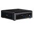 Intel NUC10i3FNKN2 (Intel Core i3-10110U up to 4,10GHz,  1x HDMI, 5x USB 3.1, Thunderbolt, 1x <b>M.2</b>, <b>without audio</b>)